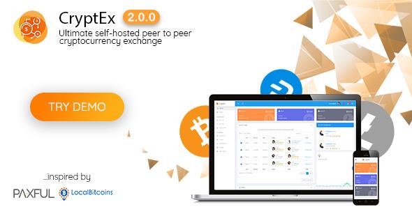 CryptEx - Ultimate peer to peer CryptoCurrency Exchange platform