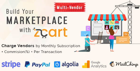 zCart v1.1.2 - Multi-Vendor eCommerce Marketplace