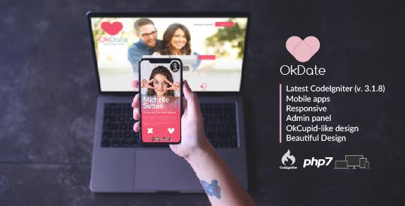 OkDate v3.2 - Dating Script and Apps