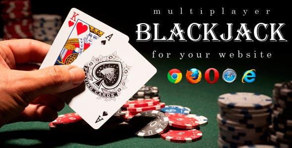 Multiplayer BlackJack - Online Casino Game