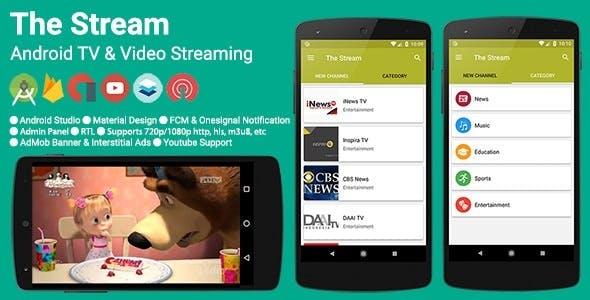 The Stream v2.4.0 - TV & Video Streaming App