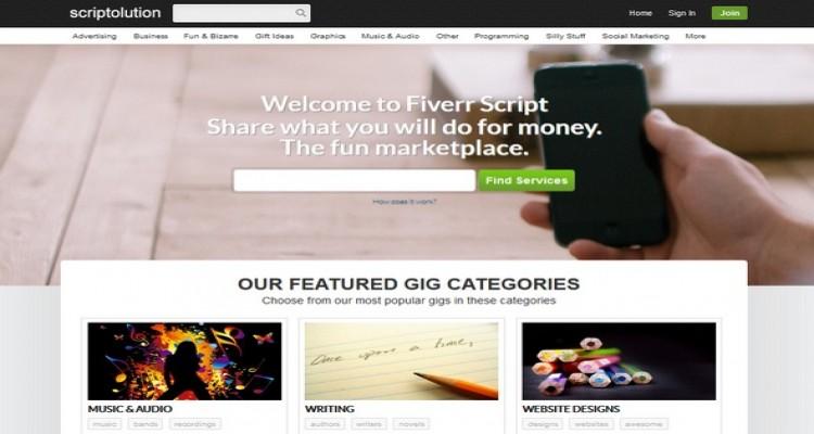 FiverrScript v7.1 – The Best PHP Fiverr Clone Script