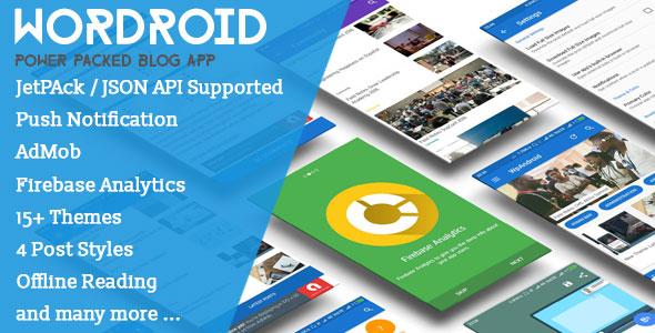 WorDroid v1.4 - Full Native WordPress Blog App