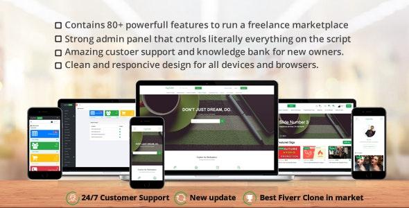 GigToDo v1.5 - Freelance Marketplace Script