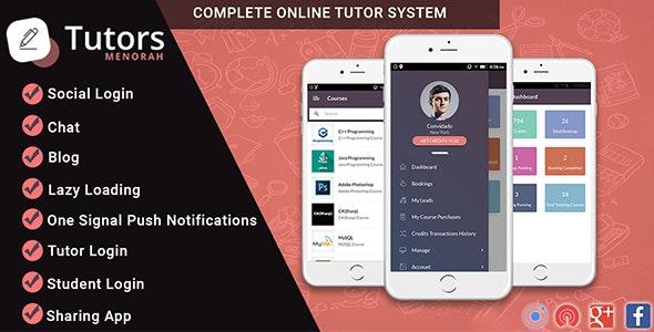 MenorahTutor v1.0 - Tutor Directory Mobile App