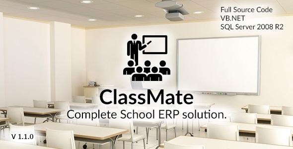 ClassMate - Complete School ERP solution
