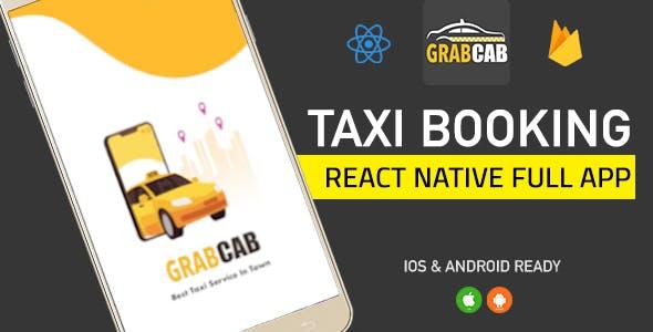Exicube Taxi App ( GrabCab ) + iOS + Android + Web + Admin (17 February 2021)