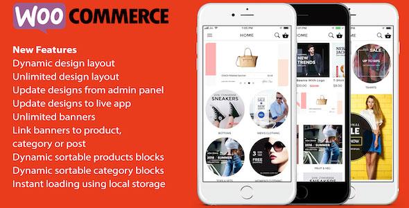 ionic 3 App for WooCommerce v1.7
