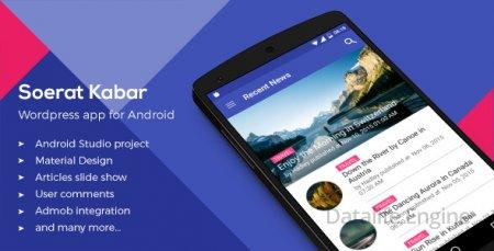 Soerat Kabar: Wordpress App For Android