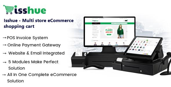Isshue v1.5 - Multi Store eCommerce Shopping Cart Solution