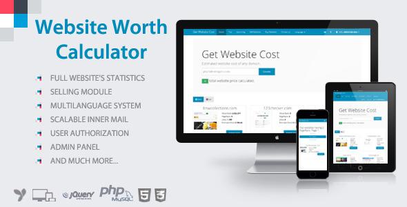 Website Worth Calculator v3.5