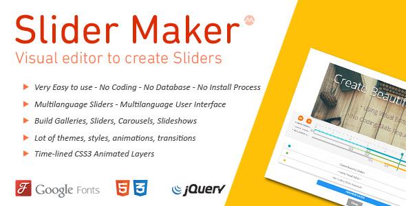 jQuery Slider Maker