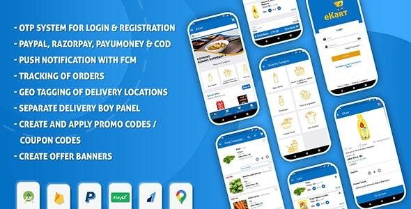 eKart v2.0.7 - Android e-commerce app