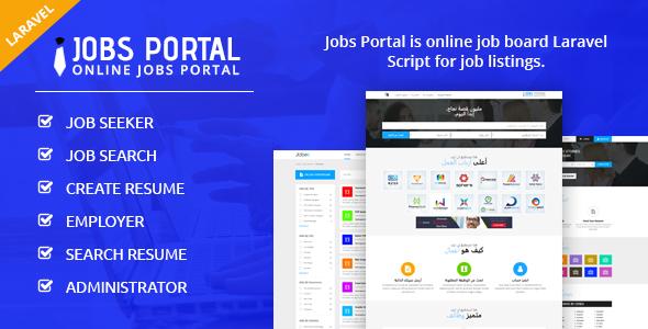 Jobs Portal - Job Board Laravel Script